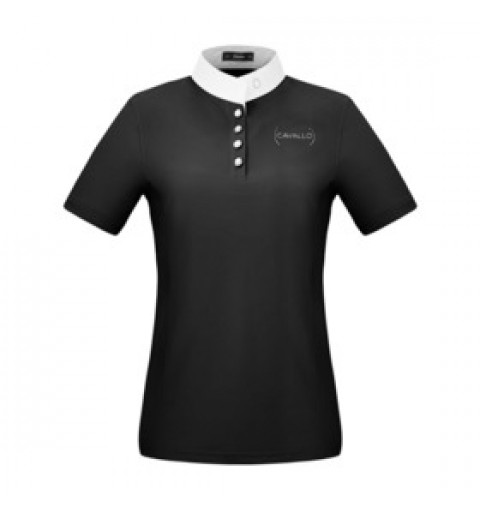 Damen Turniershirt Kalida - black - 40