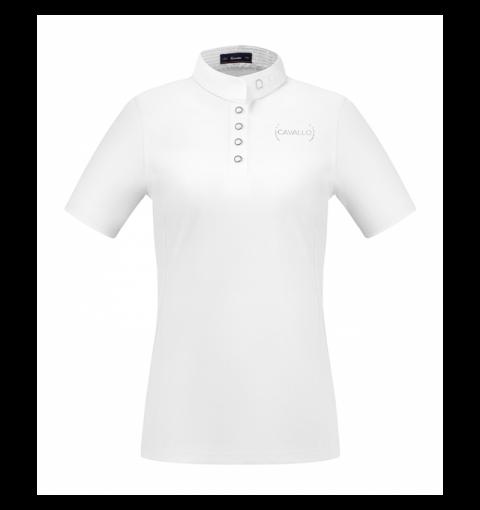 Damen Turniershirt Kalida - white - 34