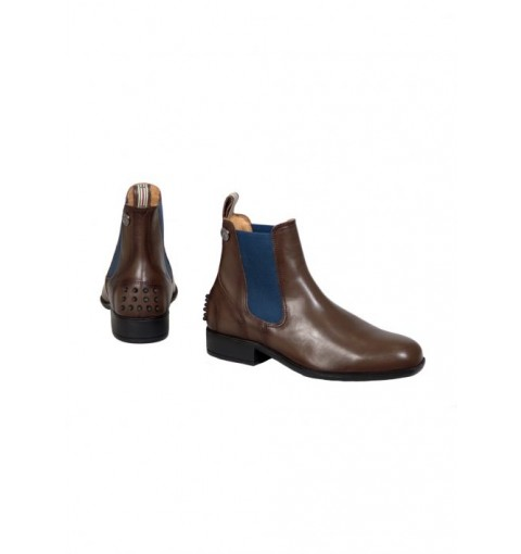 Boots CHELSEA Deluxe - mocca/navy