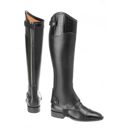 Chaps DALLAS Deluxe/CROCO - black