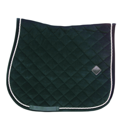 Schabracke Corduroy Jumping - dunkelgrün