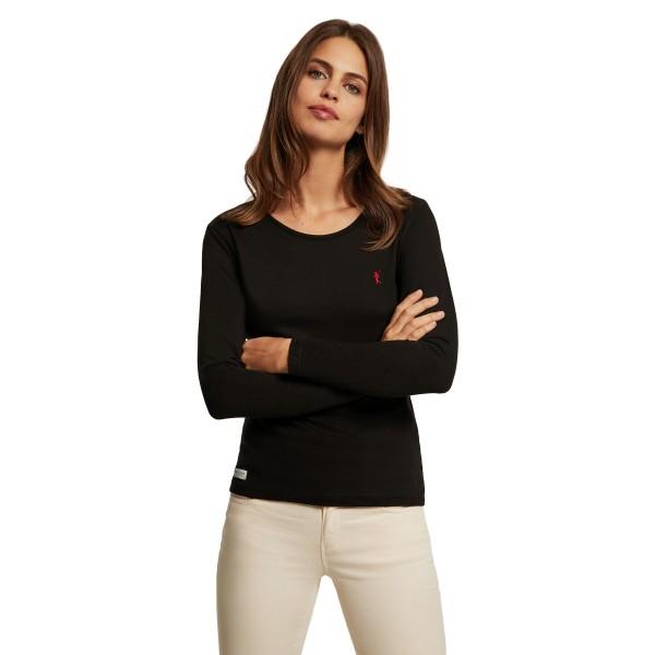 Sweatshirt Miss Rigby GO L-S - schwarz