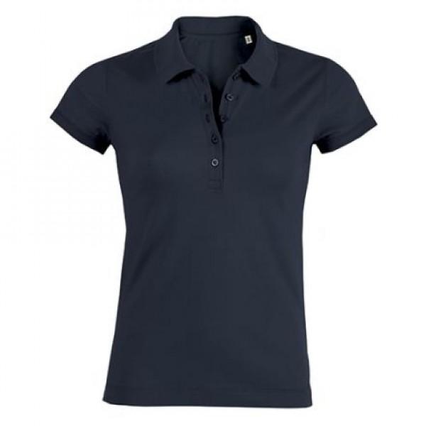 Piqué Polo-Shirt - navy - M