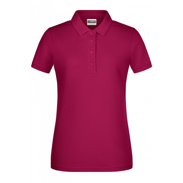 Poloshirt Damen - burgundy - S, L