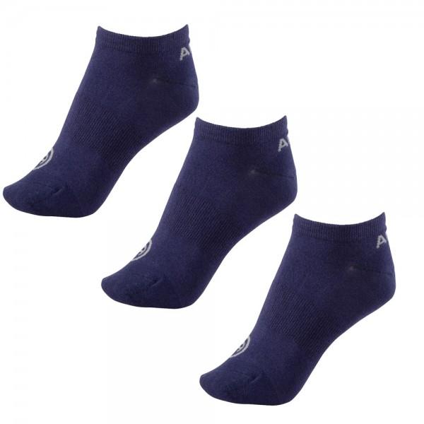 3er Set Sneakersocken Technical - dark blue