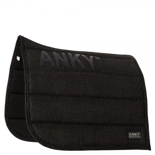ANKY Saddle Pad Shiny - schwarz - VS