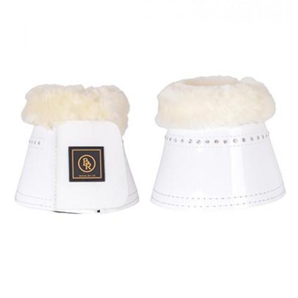 Springglocken Glamour Lacquer Sheepskin - weiß - XL