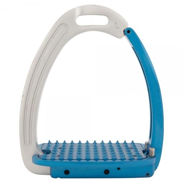 Steigbügel Lavarone - silber/blau