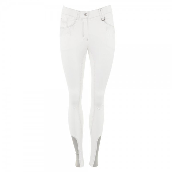 Reithose Maggy Vollbesatz - optical white
