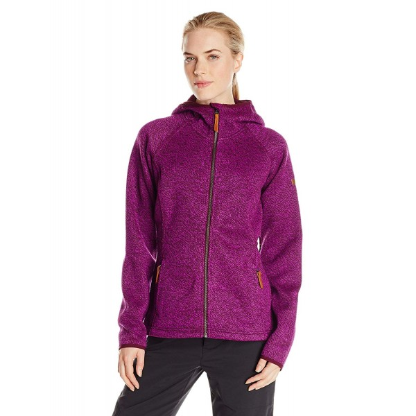 "Fleecejacke ""Canyons Bend Hoodie""- purple dahlia - S, M"