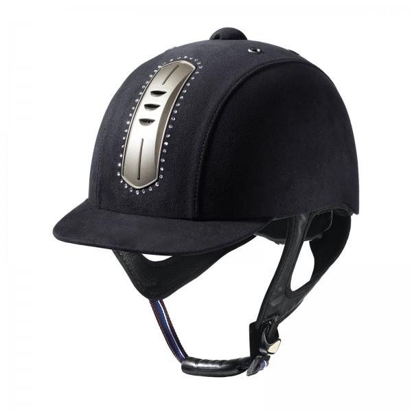 Helm CORSO Suede Crystal - black - S