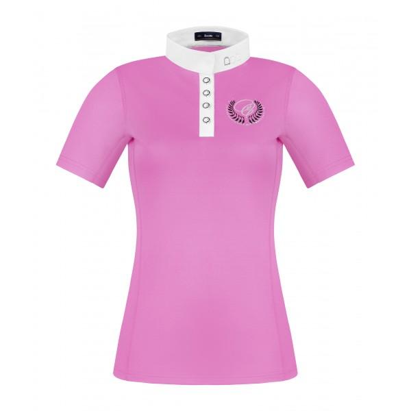 Turniershirt Isabella - rose pink - 40
