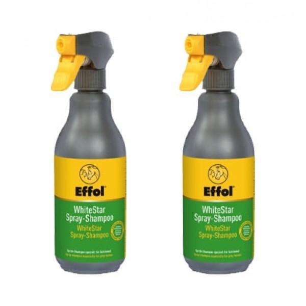 2er Set White-Star Spray-Shampoo - 2x500 ml