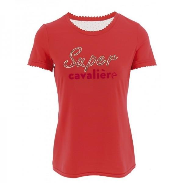 T-Shirt Super - fuchsia