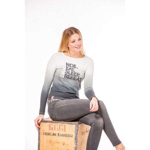 Shirt Women DANA Longsleeve - white - M