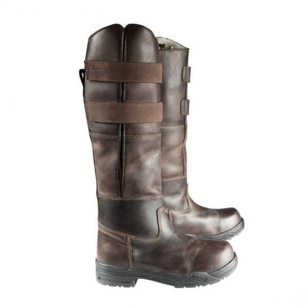 Rovigo hohe Stiefel - braun - 36, 40
