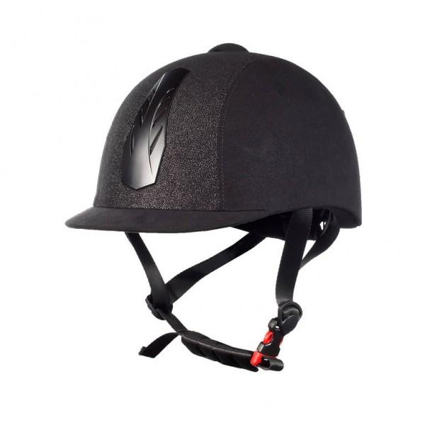 Horze Supreme Triton Galaxy Helm -schwarz-silber (59/61)