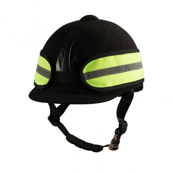 Reflektierendes Helmband - gelb