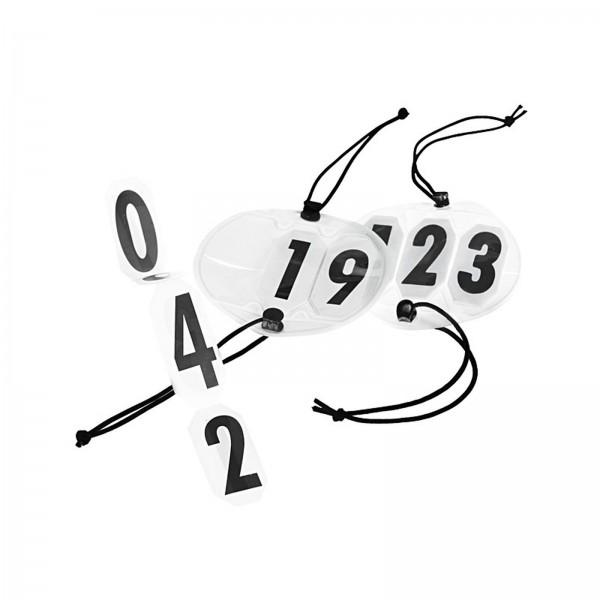 Kopfnummer - rund