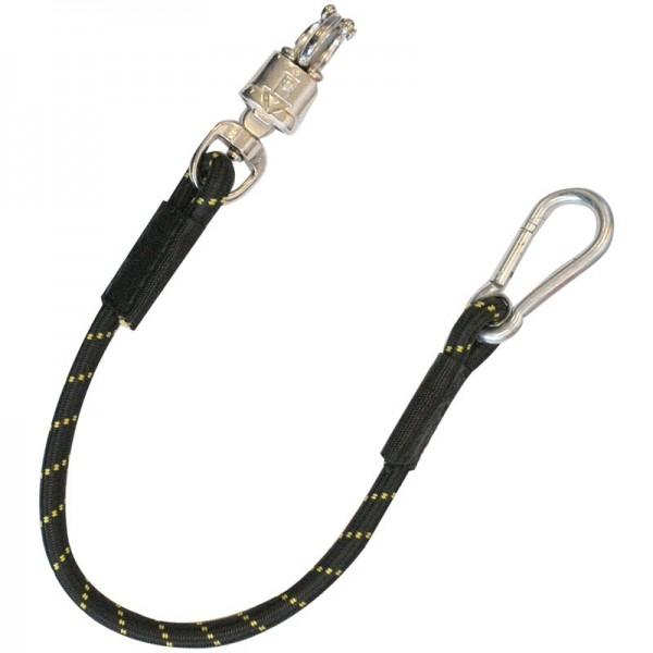 Traileranbinder elastisch -black