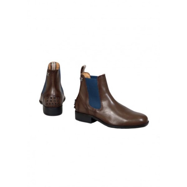 Boots CHELSEA Deluxe - mocca/navy - 41