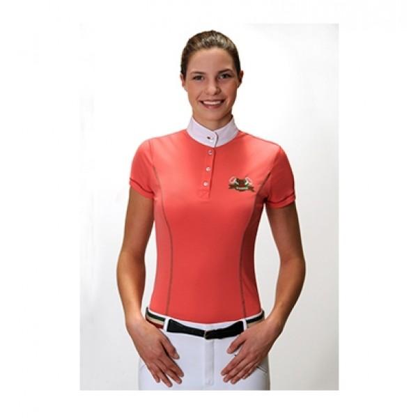 Damen-Turniershirt BRITNEY - koralle - 32
