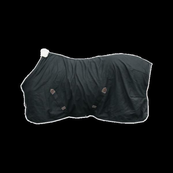 Baumwolldecke - schwarz