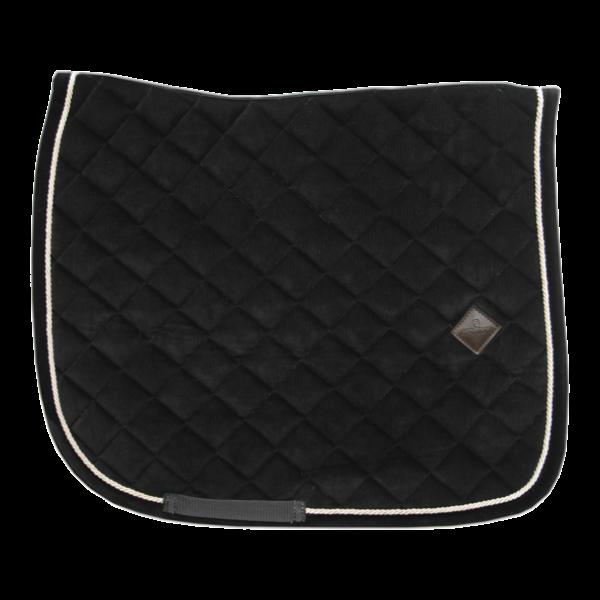 Schabracke Corduroy Dressage - schwarz