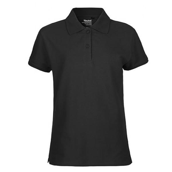 Fairtrade Poloshirt - schwarz - M