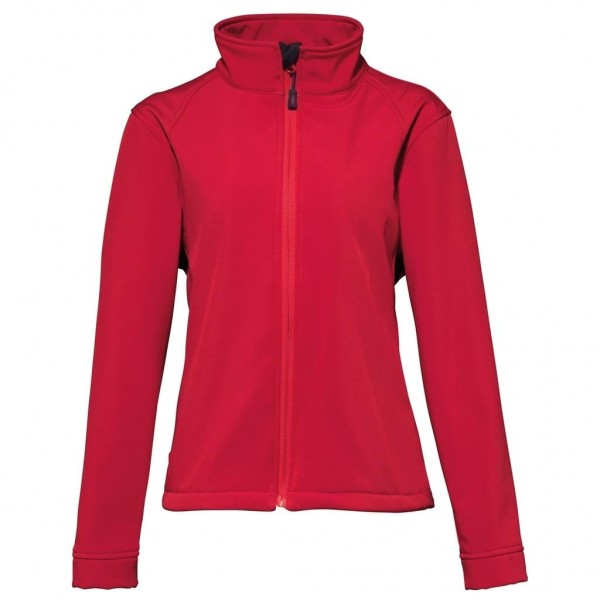 Softshelljacke Damen - red