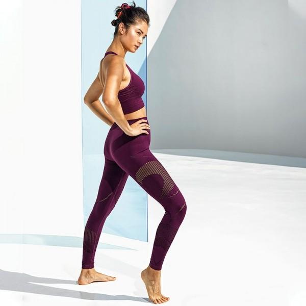 3D fit Multi-Sport Reveal-Leggings - mulberry - S, L