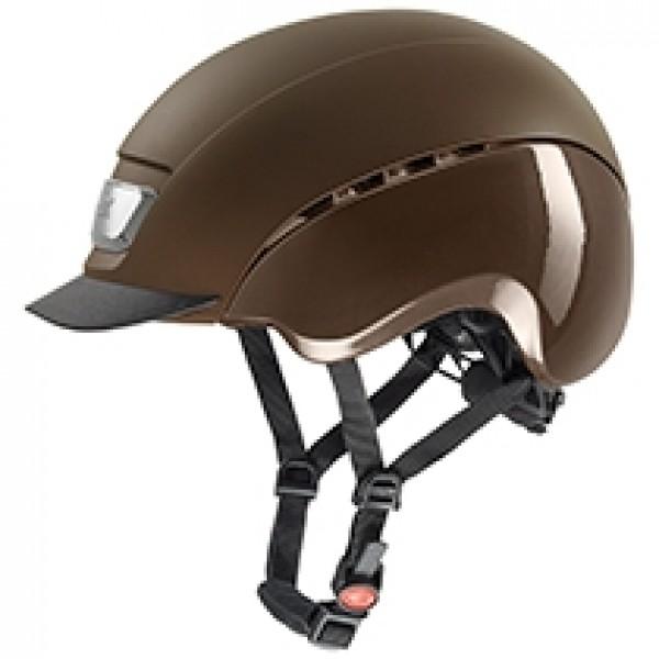 Reithelm elexxion pro - brown mat/brown shiny