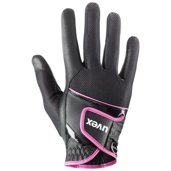 Reithandschuh sumair - black-pink