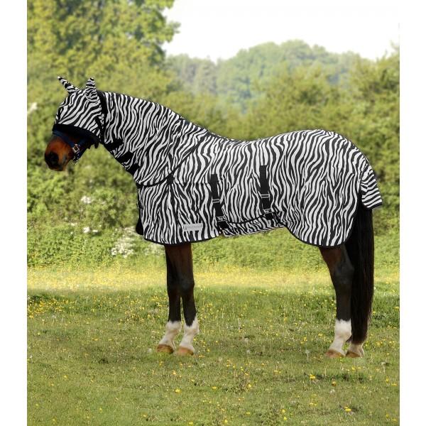 Fliegendecke - Zebra - 145 cm
