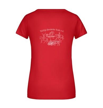 T-Shirt Damen - rot