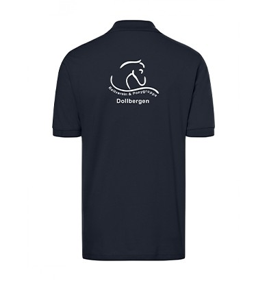 Poloshirt Herren -navy
