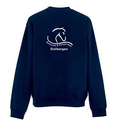 Sweatshirt Kinder -navy