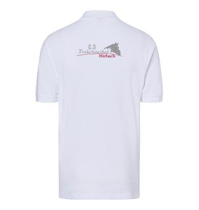 Poloshirt Herren-weiß