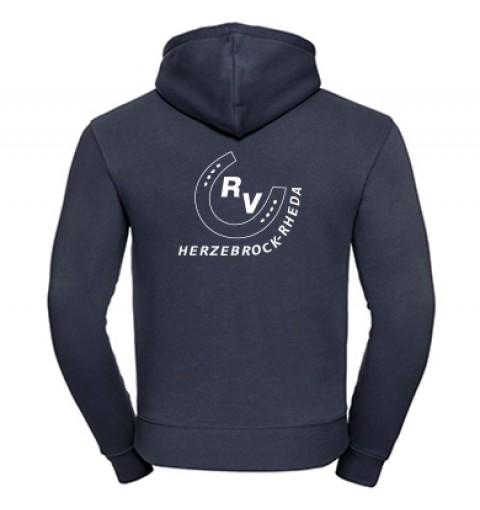 Zip-Hoodie Herren-navy
