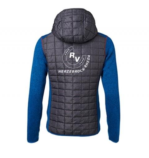 Hybrid Jacke Damen-royal melange