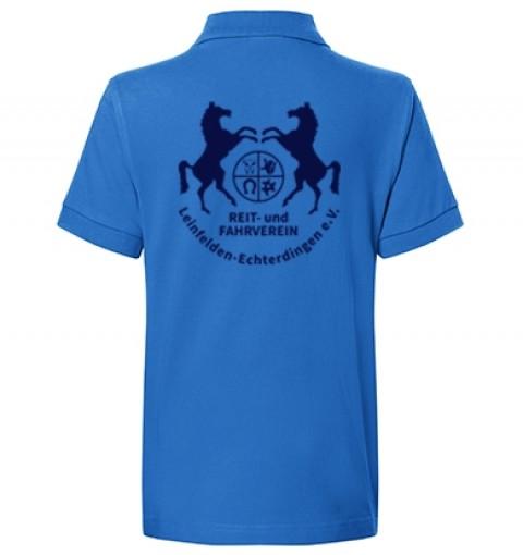 Kinder Poloshirt - royalblau
