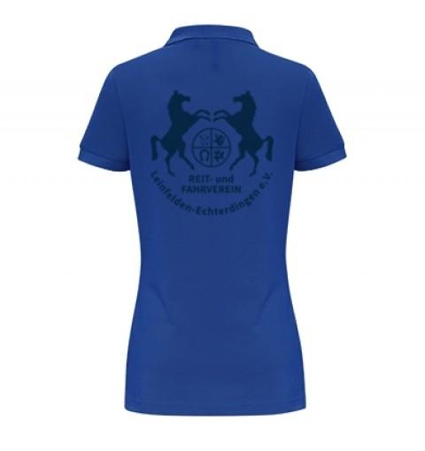 Damen Poloshirt - royal