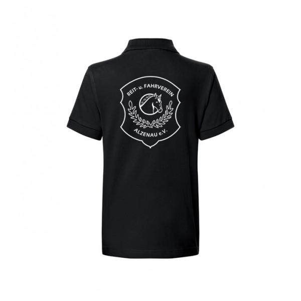 Poloshirt Kinder - black