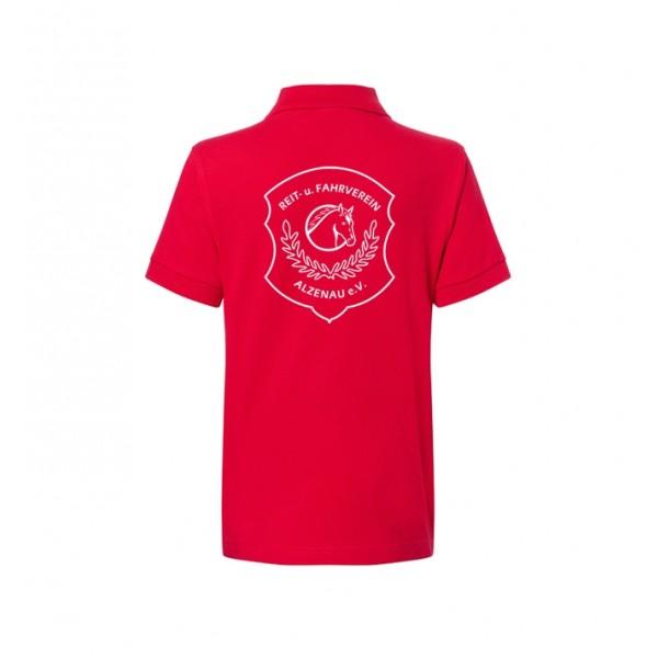 Poloshirt Kinder - red