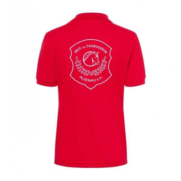 Poloshirt Damen - red