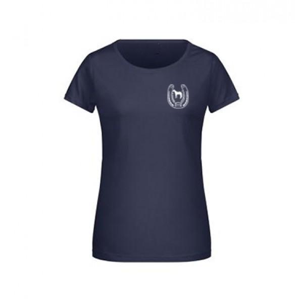 T-Shirt Damen -navy