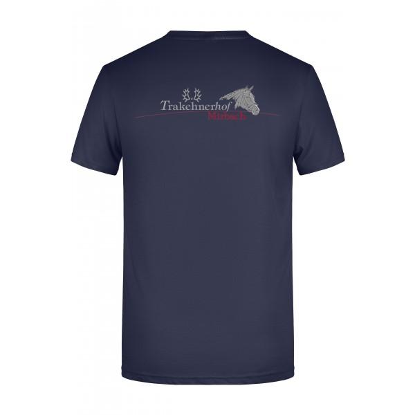 T-Shirt Herren-navy