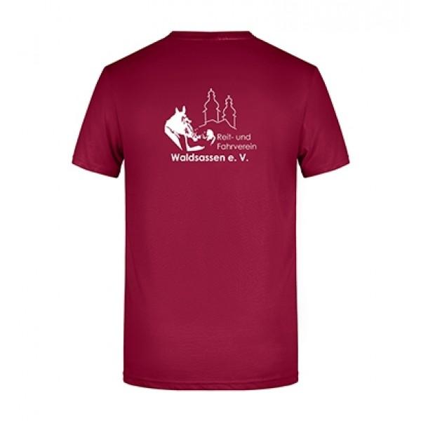 T-Shirt Herren -wine