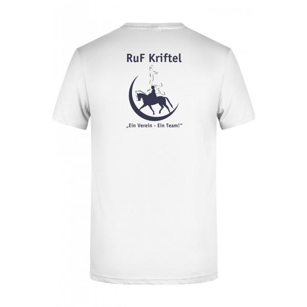 T-Shirt Herren - weiß