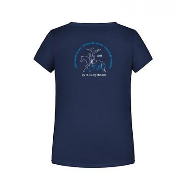 T-Shirt Kinder Volti - navy